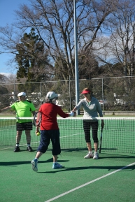 MLTC Players at net
