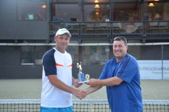 Winner Mens Open Singles 17:18